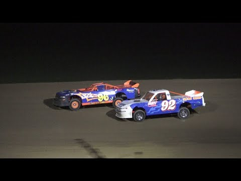 Pro Truck Feature Race at Crystal Motor Speedway, Michigan on 09-01-2019!
