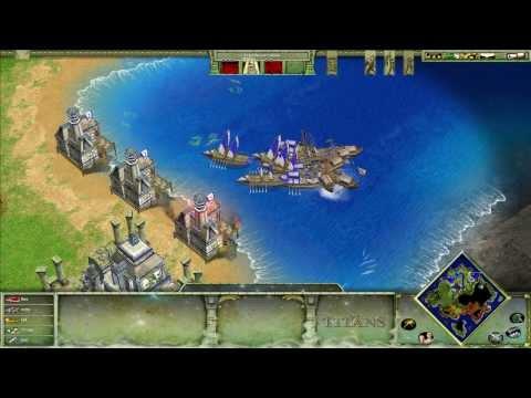 Age of Mythology: The Titans 02. Возрождение Атлантиды 2/2