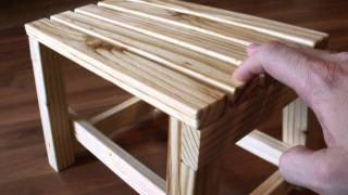 Wood Step Stool Version 3