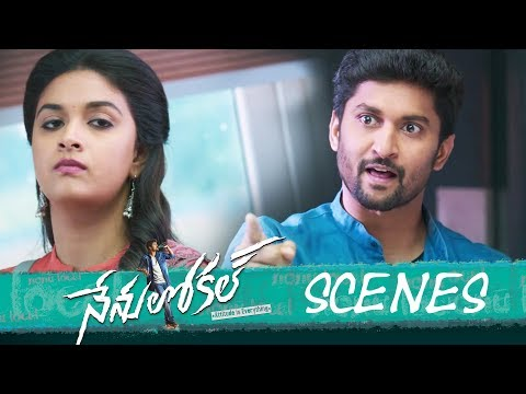Nenu Local Movie - Love Proposal in College Scene- Nani, Keerthy Suresh