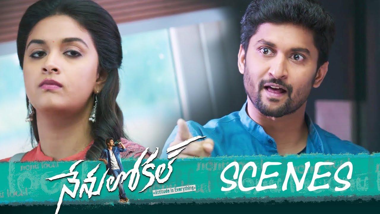 Download Nenu Local Movie - Love Proposal in College Scene  - Nani, Keerthy Suresh