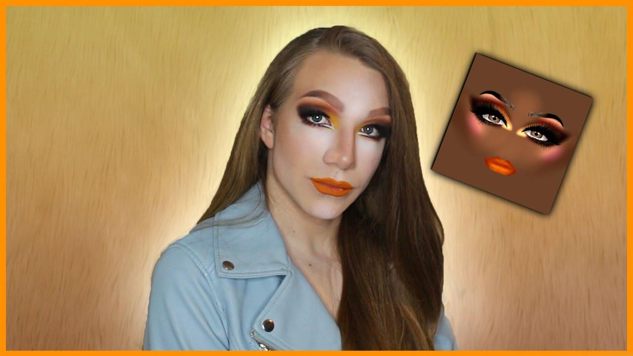 Roblox Inspired Makeup Tutorial