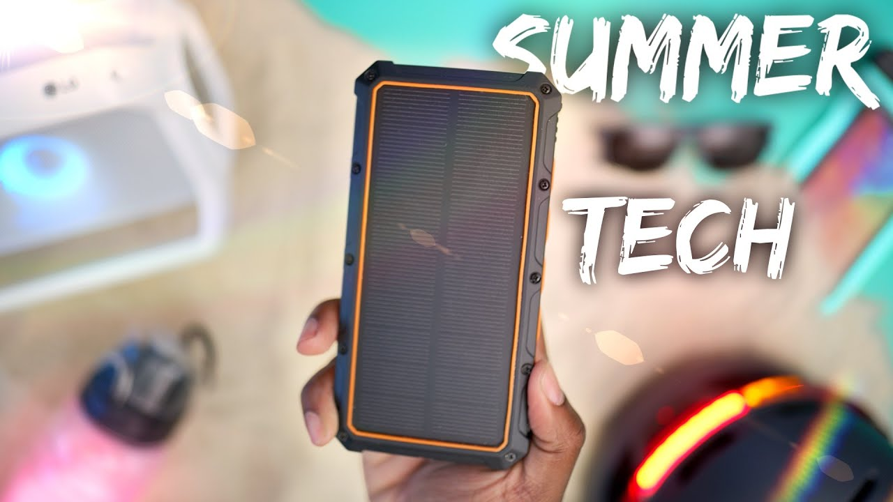 Download The Top Summer TECH Essentials! (2019)