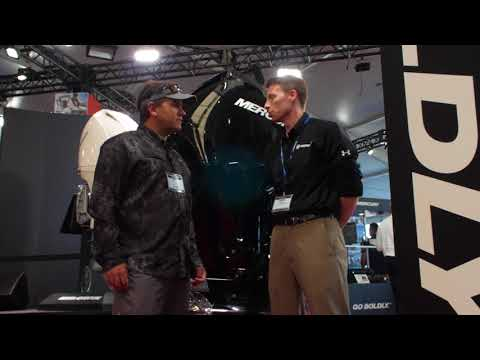 2018 Miami International Boat Show - New Mercury Outboard Engine