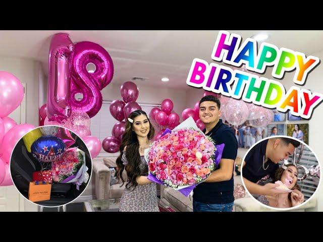 Surprising My Girlfriend For Her Birthday!!! - Jonathan Hernandez