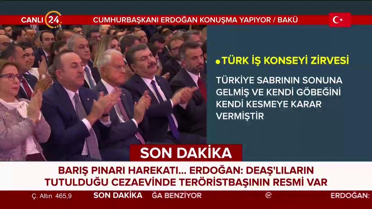 Erdoğan Azerbaycan'da: Harekatımızı sonuna kadar götürmekte kararlıyız