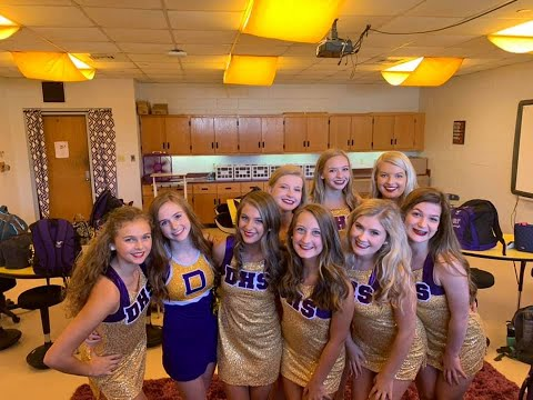 Jubilee Girls - Daphne High School Dance Team 2019