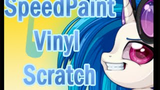 How I Draw Vinyl Scratch  (DJ Pon3)