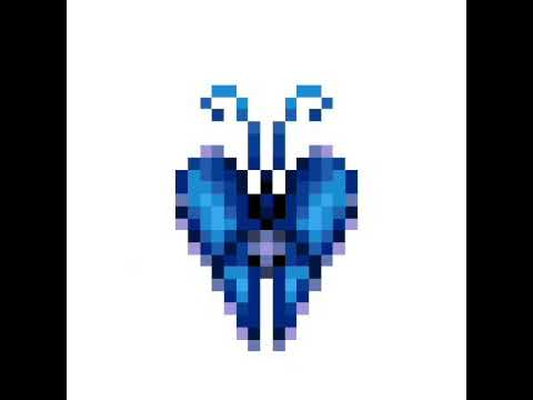 Papillon Pixel Art Youtube