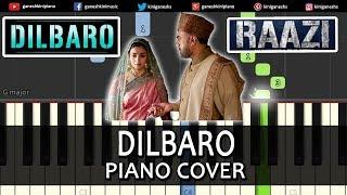 Dilbaro Song Raazi   Piano Cover Chords Instrumental By Ganesh Kini
