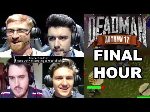 Everyone Gets DDOSED! $20,000 Deadman Mode Tournament (Final Hour) - All Streamer Deaths!