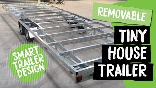 Detachable Tiny House Trailer | Build Tiny, Tiny House Builder, Katikati Nz