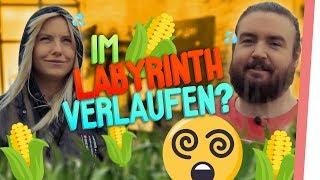 GEFANGEN im LABYRINTH! | Outdoor Challenge mit Kelly & Sturmwaffel