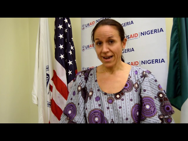 Words of Dr. Beatrice of USAID on Osun Youth Agenda