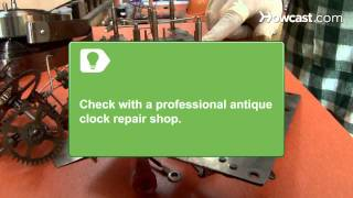 How To Clean Antique Clocks