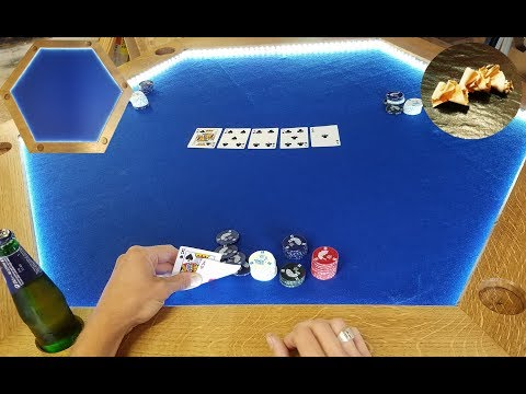 Table Poker Pliante Led DIY