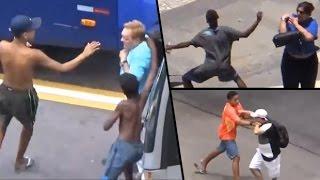 Cum se fura in Brazilia Atentie !!! # Copii Hoti de Buzunare fura pe strazile din Brazilia