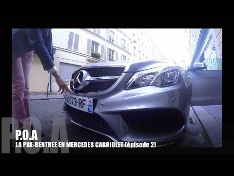 Mercedes Classe E cabriolet : la pré-rentrée de POA (2/2)