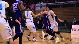 つくばロボッツvs三菱電機名古屋 バスケットボール 2015.3.1vol.13 五十...