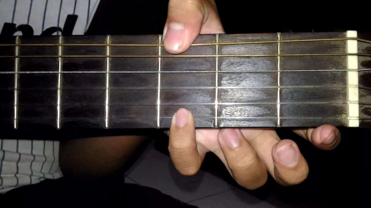 Belajar Gitar Chord Dasar Surat Cinta Untuk Starla Virgoun Youtube