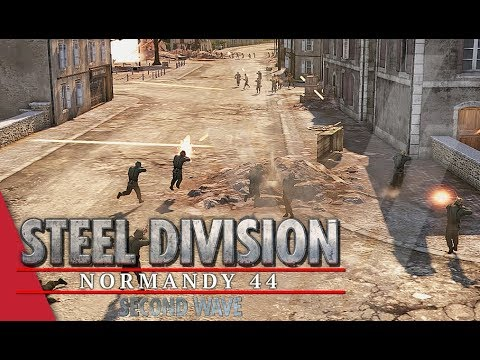 Can I Come Back?! Steel Division: Normandy 44 Gameplay (Sainte-Mère-Église, 4v4)