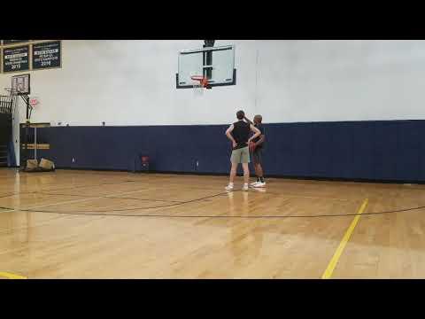 Asheville Christian academy guard Tyler McKinney
