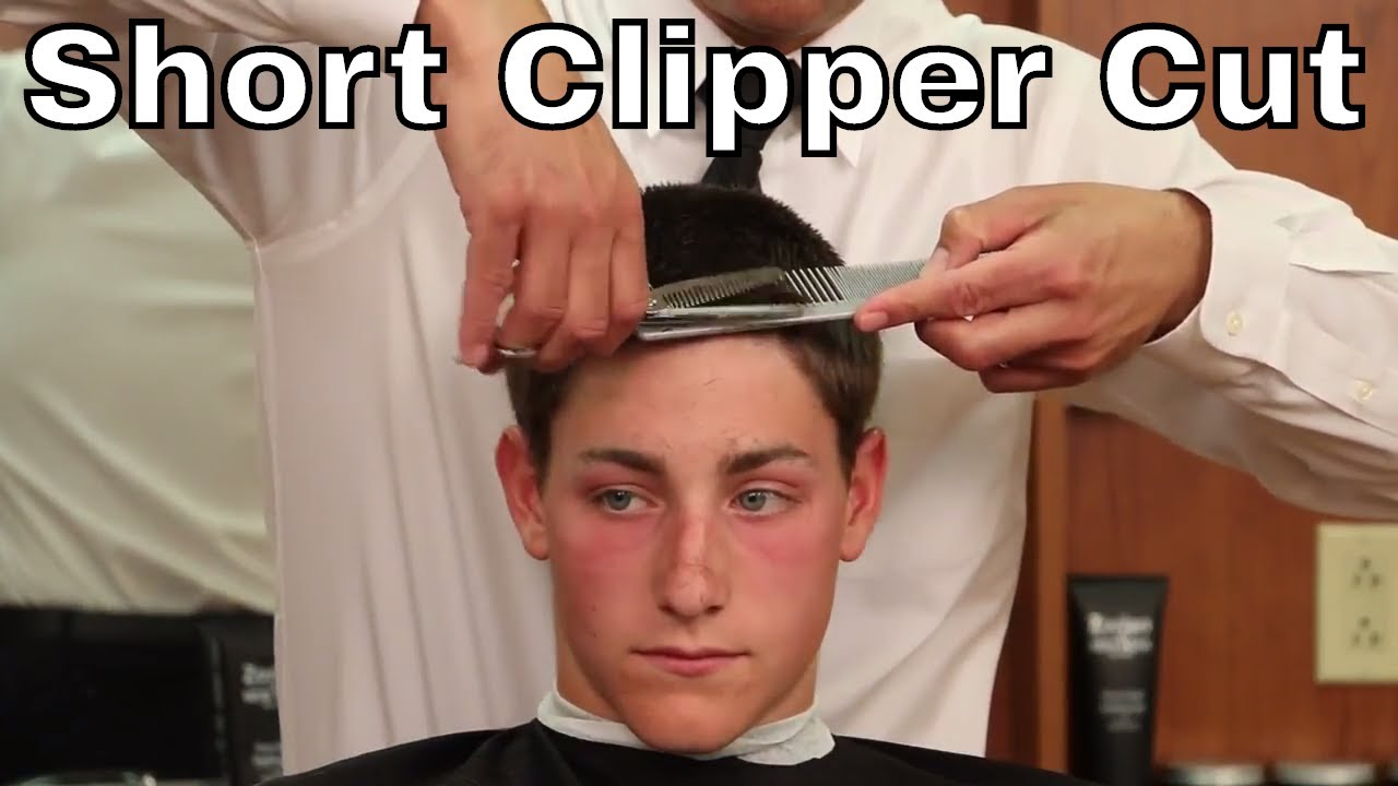 How To Cut And Style A Short Mens Clipper Cut Greg Zorian Haircut