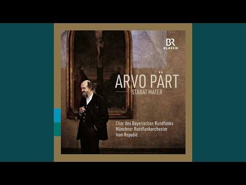 Munich Radio Orchestra, Chor des Bayerischen Rundfunks, Florian Benfer & Ivan Repušić - Stabat mater mp3 letöltés