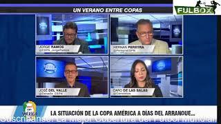 ¡OFICIAL! Copa América SÍ se jugará en Brasil- Santiago Ormeño JUGARÁ con Perú- Jorge Ramos