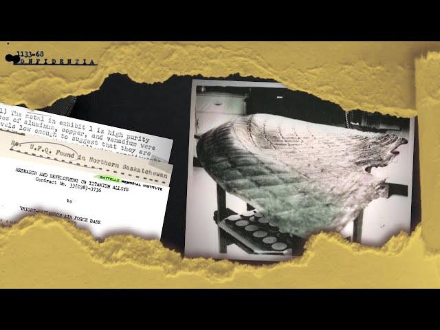 Rare Documents Disclose Hints of UFO Crash Retrievals