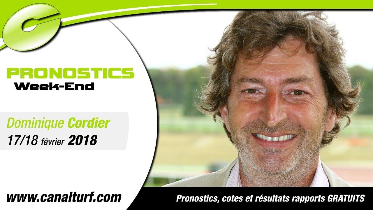 Pronostics We Des Quinte Pmu Du 17 Et 18 Fevrier 2018 Dominique