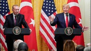Gambar cover مؤتمر صحفي للرئيس الأمريكي دونالد ترمب ونظيره التركي رجب طيب أردوغان