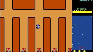Rally X - classic arcade game