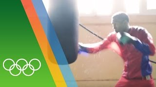 Training for Rio with the Cuban Boxing team