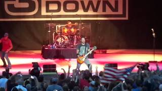 3 Doors Down When I'm Gone @ Elkhart Couty 4H Fair 7-19-2014