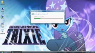 upgrading from internet explorer 7 to internet explorer 9 on windows vista