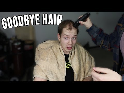 I was going bald...so I shaved my head.