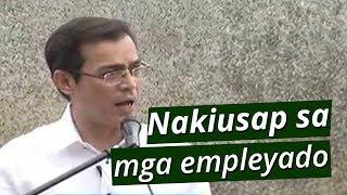 Pakiusap ni Manila Mayor Isko, sa mga empleyado ng Manila City Hall | BT
