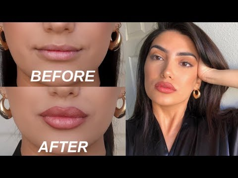 HOW TO FAKE BIG LIPS IN 3 EASY STEPS! (OMG)