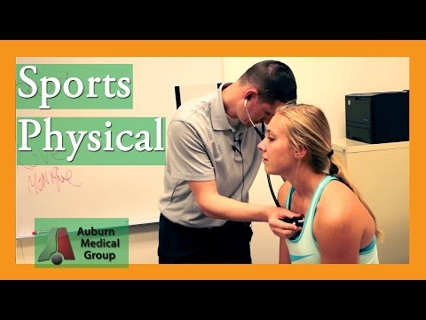 School Sports Physical Exam | Auburn Medical Group