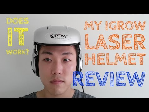 I Got An iGrow Laser Helmet!