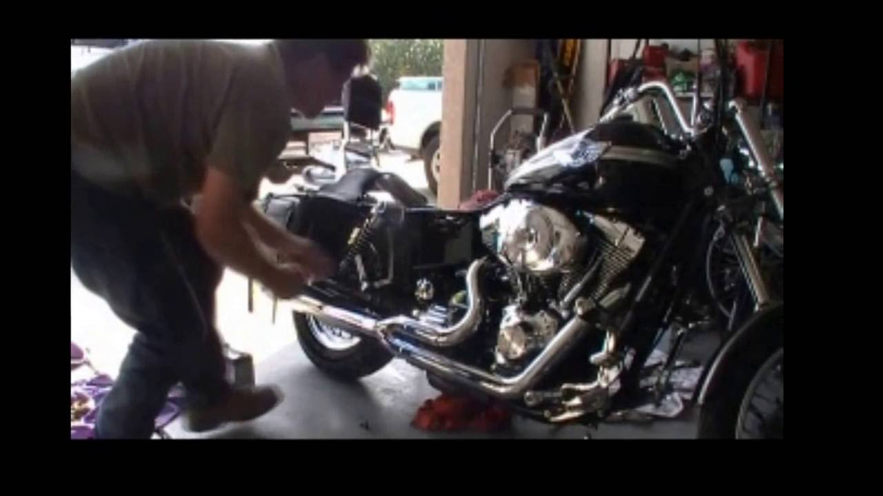 how to remove harley davidson starter [ 1280 x 720 Pixel ]