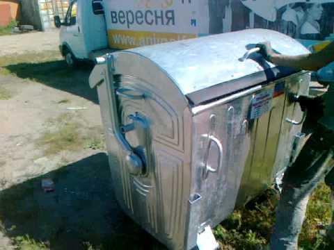 Купить контейнер 1100 литров, оцинкованный 0445680834