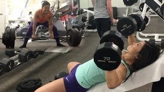 Strong Woman Heavy Lifts & BPI Sports Pre-Workout / New Sour Candy BCAA!