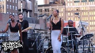 "Vivian Green Performing ""Get Right Back to my Baby"" on Capitol Records Rooftop NYC"