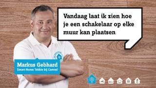 Draadloze Conrad schakelset (verlichting) - The Smart Way Of Life - Smart Home