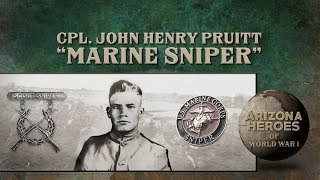 ARIZONA HEROES OF WW1 Cpl. John Henry Pruitt