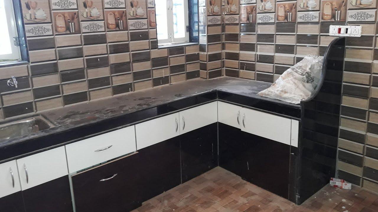 Kitchen platform and few door design with windows - YouTube