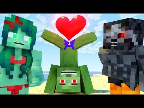 The Minecraft Life Of Zomma & ZomBo | Funny Farting | Minecraft Animation