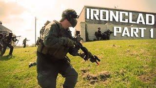Light Machine Gun Airsoft Footage - Op. Ironclad Pt. 1 - Airsoft GI Gameplay